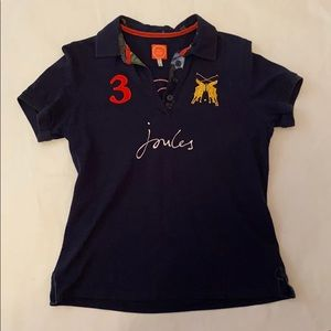 Joules Women's Riding Shirt Navy size 10